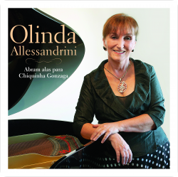 """Recital de lançamento do CD """"Abram alas para Chiquinha Gonzaga"""" (quarta-feira)"""