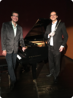 As Partes do Tempo: Recital de Clarinete e Piano