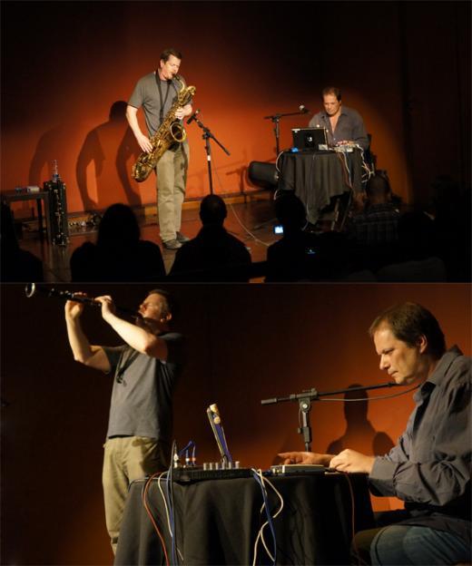 Show de Vandermark e Kurtzmann surpreende no StudioClio