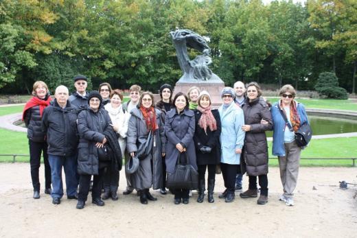 Grupo de expedicionários do ClioTur está em giro pela Polônia