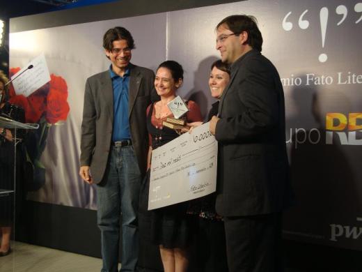 Sport Club Literatura vence Prêmio Fato Literário na categoria Júri Popular